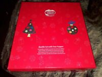 Disney Bauble Set with Tree topper Snow White 7 dwarfs
