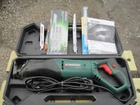 Hand held power saw+several spare blades
