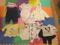 Baby Girl 0-3 months bundle preloved