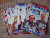 ONLY FOOLS AND HORSES (STILL SEALED DVD'S) PLUS MAGAZINES