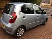 HYUNDAI I10 CLASSIC 2011(61) 1.2l 5dr FULL SERVICE HISTORY £20 ROAD TAX VERY ECONOMICAL AND RELIABLE