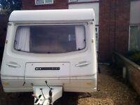 2 Berth Compass Omega caravan for sale.