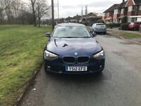 BMW 118d SE FULL BMW SERVICE HISTORY