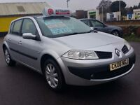 2008 RENAULT MEGANE DYNAMIQUE...1.4 LITRE PETROL...WITH PANORAMIC ROOF