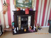 Cast Iron Fireplace With Surround