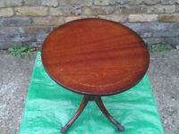Pedestal TABLE Vintage / Antique (COFFEE Tea Cup Drink Cake Side occasional) #FREE DELIVERY#
