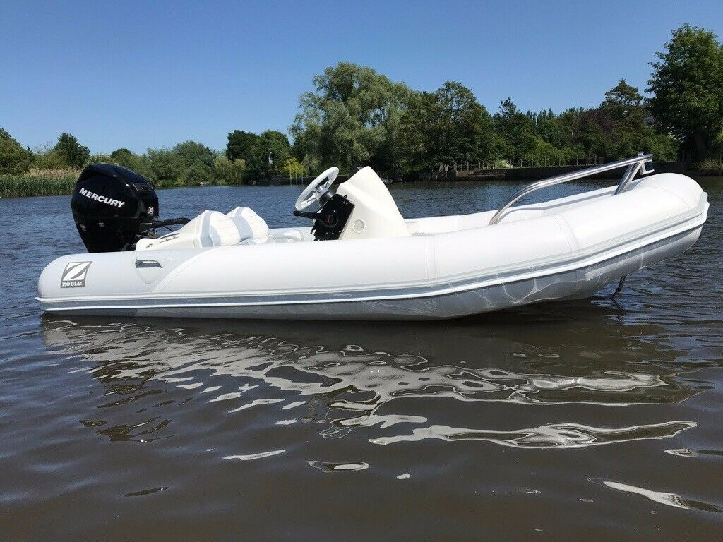 Zodiac Yachtline 380 Rigid inflatable boat RIB Sold but we have a 4 2M YL +  50hp available | in Stratford-upon-Avon, Warwickshire | Gumtree