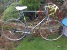 Vintage retro Peugeot premiere 10 speed road bike,62cm frame,700c wheels,dual weinman brakes