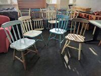 20 Retro Shabby Chic Café Chairs