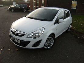 2012 62 VAUXHALL CORSA 1.2 SE 5d 83 BHP **** GUARANTEED FINANCE **** PART EX WELCOME