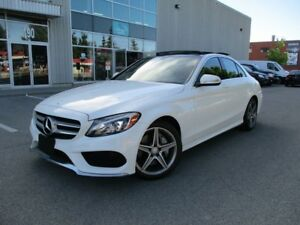 2015 Mercedes-Benz C-Class C300 4MATIC AMG PKG FULLY LOADED