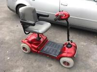 Shoprider fold flat mobility scooter - bargain- can deliver for fuel
