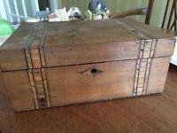 small vintage antique box