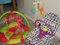 3 pieces of baby equipment
