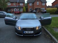 Audi A4 Cabriolet 2.0 TDI S Line 2dr, Great Price for Quick Sale, Low Milage, Lots of Extras