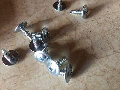 (750 pcs) 8x3/4 Self Tap Drill screws Mod Phillips Truss  Head Zinc lath (Mod Tap)