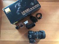 Nikon D5100 With Sigma 18-200 Lens.