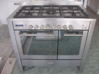 baumatic range cooker twin ovens