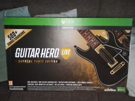 Guitar hero live Xbox one (Brand new)