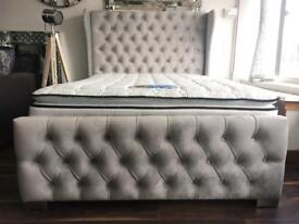 ⭐️Special offer!!!⭐️Keswick wing double bed with Cool gel mattress only £599 🔻bargain price🔻