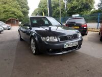 Audi A4 1.8 T Limited Edition 4dr , Nice alloys, Clean and tidy, New Mot, Card Payments, Warranty.