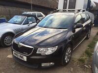 SKODA SUPERB 1.6TDI estate greenline 11 PCO 2011/61 PCO