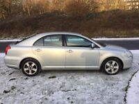 2005 toyota avensis 2.2 d-4d t3-x diesel only two owners service history faultless car
