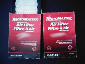 Two new MotoMaster air filters