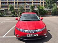 2006 MK8 Honda Civic with SatNav Parking Sensors