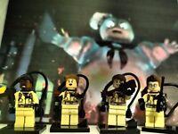 Ghostbusters Minifigures like Lego TV Movie