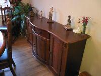 Beautiful Dutch Oak Sideboard