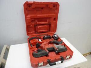 Milwaukee Cordless Bandsaw Kit - We Buy and Sell Pre-Owned Power Tools - 52727 - MH327405