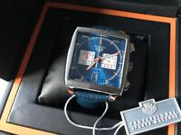 Swiss Tag Heuer Monaco Chronograph Watch