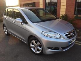 Honda frv diesel 2.2 ctdi sport leather interior low miles 6 speed cheap bargain £2995