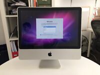 iMac 8.1, Intel Core 2 Duo, 2.4GHz, 4.8 GB Ram. Wiped and reinstalled Snow Leopard – free upgrades