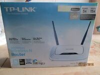 TP-Link TL-WR841N 300Mbps Wds Wireless Router for cable connections