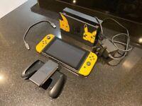 Nintendo Switch - Let's go Pikachu edition - like new