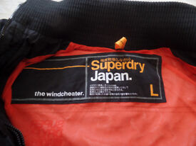 Superdry Windcheater Jacket Mens or Large Boys