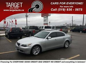2005 BMW 5 Series 545i, Fully Loaded; Leather, Roof, and More !!
