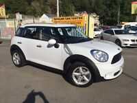 MINI COUNTRYMAN 1.6 One D (Salt pack) 5dr (white) 2012