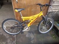 3 Mountain Bikes for spares or repair