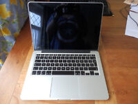 """Apple MacBook Pro with Retina display 13"""" Laptop (Late 2013, Silver)"""