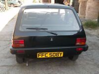 Classic investment. Black Austin Metro 1300 Auto...