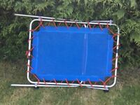Toddler junior TP folding trampoline with handle