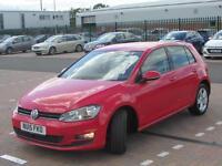 Volkswagen Golf MATCH TSI BLUEMOTION TECHNOLOGY (red) 2015-03-31