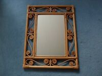 Cane Mirror for sale shabby chic