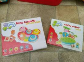 Butterfly Shape Sorter and Balance Game