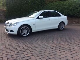 Mercedes C Class Auto Special Edition Executive model, Immaculate inside and out. Built in Satnav