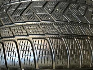 295/45/20 Pirelli scorpion winter 6-7/32