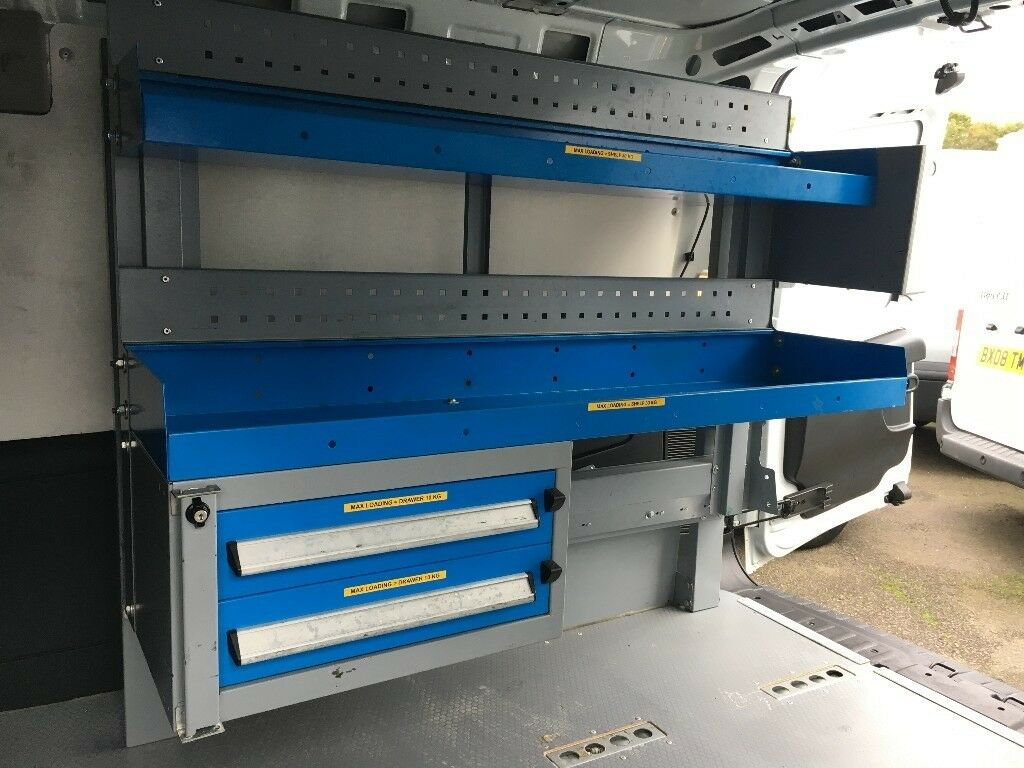 Van Racking / Shelving - Tool Station - Very Good Condition - Suitable For Small To Medium Van